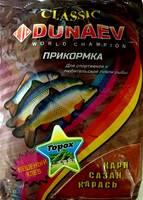 "Прикормка ""DUNAEV КЛАССИКА"" 0.9кг. Карп Горох"