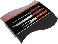Набор для приготовления стейка, 3 предмета в деревянном боксе, ROYALGRILL™ (80-201)