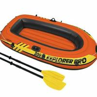 "Надувная лодка ""INTEX ""Explorer Pro 200 (до 120кг) 196х102х33см#58356"