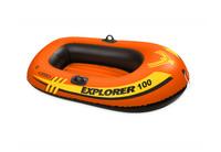 "Надувная лодка""INTEX "" Explorer 100 (до 55кг) 147x84x36см#58329"