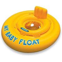"""Надувные водные ходунки  """"Intex""""70см """"My Baby Float"""", от 6 до 12 месяцев, до 11 кг#56585"""