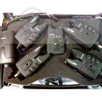 "Сигнализатор поклёвки ""Kaida""  CAНY01 модель 4+1"