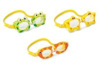 "Очки для плавания ""Fun"" от 3 до 8 лет, 3 вида 55603"