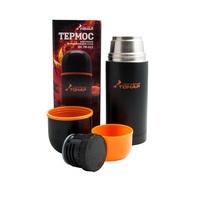 Термос HS.TM-023 500ML черный (C)  дополнительная пластиковая чашка.(1шт)