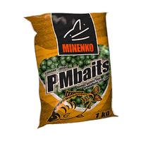 Бойлы прикормочные пылящие MINENKO PMbaits GLM 20мм 1кг