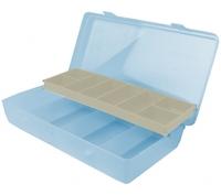 Коробка Aquatech 12 ячеек 7100 со скользящей полкой(215 x 120 x 45 мм)