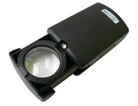 """Лупа с подсветкой""""СЛЕДОПЫТ"""" кратность 30х,d л.21 мм,с компл.батареек."""
