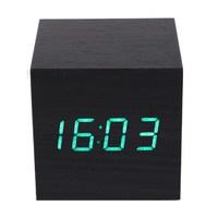Электронные часы VST-869 (Куб) Зелёные