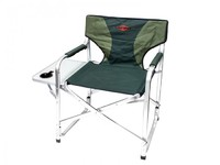 """Кресло складное c столиком с подстаканником алюминий """"Mifine"""""""
