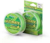 "Шнур плетёный ALLVEGA ""Ultimate"" 92м светло-зелёный."