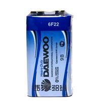 Батарейка крона Daewoo 6F22 (1 шт.)