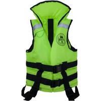 Жилет спасательный MEDNOVTEX для детей до 50 кг салатовый
