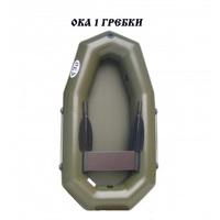Лодка Ока 1 Гребки