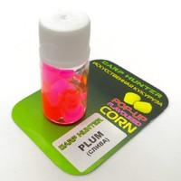 Плавающая силиконовая кукуруза pop-up CarpHunter в дипе Plum (слива) 10шт.