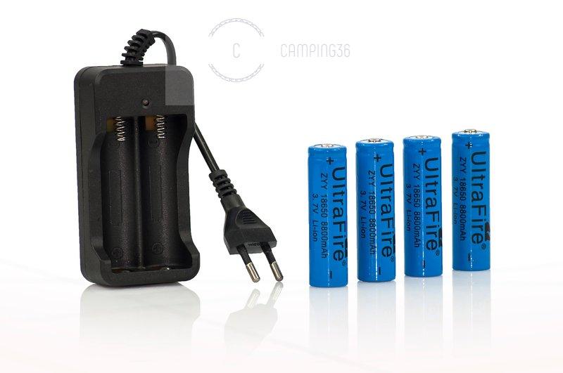 Зарядное устройство для 2-х аккумуляторов